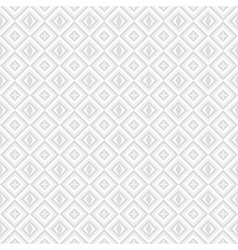 white and grey background with diamonds vector image