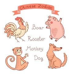 Chinese Zodiac - Rat vector image vector image