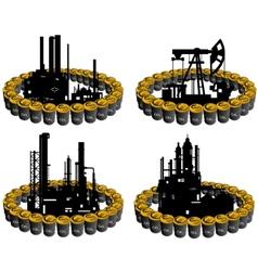 Petroleum business-6 vector image