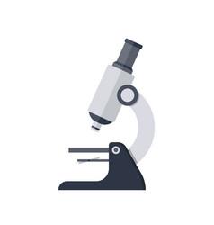 simple microscope icon vector image vector image