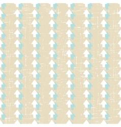 Grunge arrow seamless pattern vector image vector image