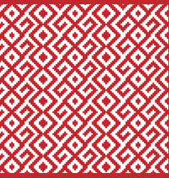 slavic ornament seamless pattern vector image