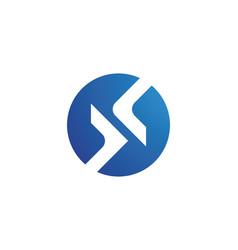 arrow icon logo vector image