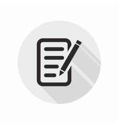 Definition feedback icon vector