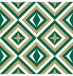 Fashion pattern with diamonds vector image