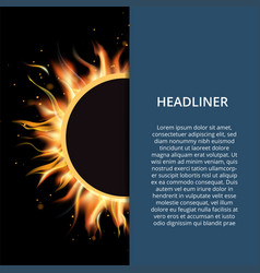 fire layout paper concept easy editable vector image