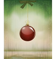 Grungy vintage christmas vector
