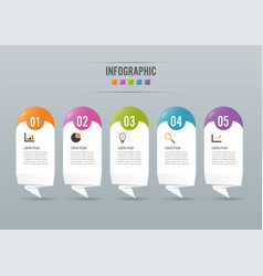 infographics design and marketing icons can be vector image