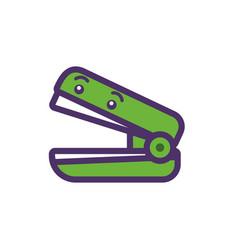 Kawaii stapler cartoon design vector