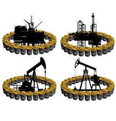 Petroleum business-1 vector image vector image
