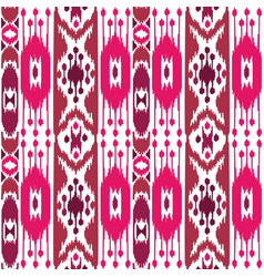 boho pink seamless pattern vector image vector image