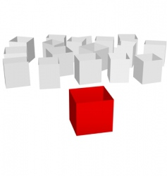 cartons vector image vector image