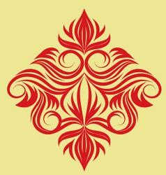 decorative-swirl-ornament vector image