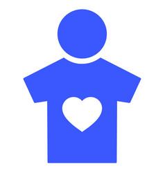 Boyfriend flat icon vector