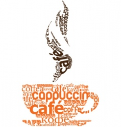 Coffee conversation vector
