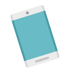 modern smartphone icon flat style vector image