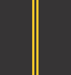 road stretch vector image