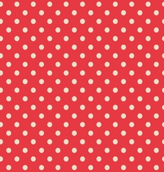 seamless background polka dot pattern vector image