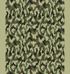 Seamless fashion camouflage vector