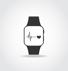 Sport smart watch vector