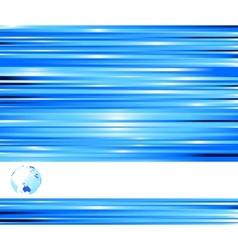 technological blue colored banner vector image vector image