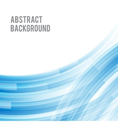 Abstract background bright and light curve blue vector