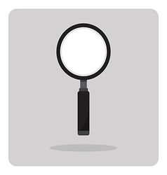 flat icon magnifying glass vector image vector image