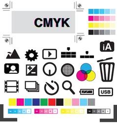 studio production vector image