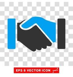 Acquisition handshake eps icon vector
