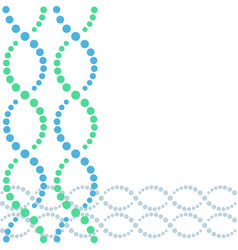 dna double helix background vector image