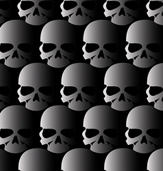 Lots of skulls vector
