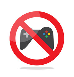 No computer games vector