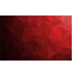 polygon red gradient background vector image