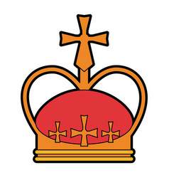 Royalty crown icon image vector
