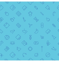Seamless background pattern for technology vector image vector image