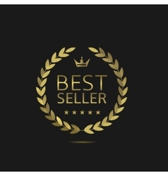 Best Seller label vector