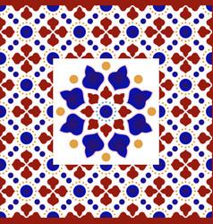 colorful decorative pattern decor vector image