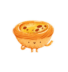 pasteis vector image