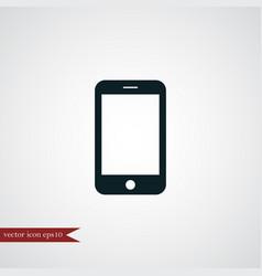 Smartphone icon simple vector