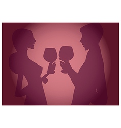 Wine Tasting Background vector image