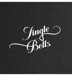 Jingle Bells Merry Christmas vector image vector image