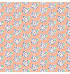 Summer pastel flowers vector image vector image