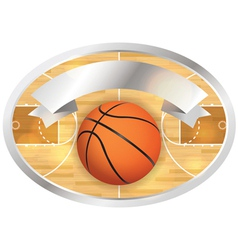 Basketball Badge and Banner vector image