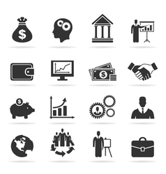Icon business9 vector image vector image