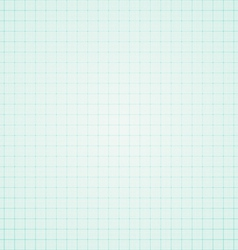 Blue graph paper background vector image vector image