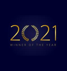 2021 awards festival vector image
