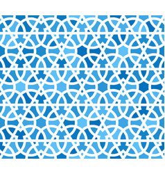 arabic seamless patterns pattern fills oriental vector image
