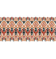 Creative ethnic stripe seamless ornament vector