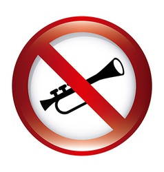 dont music design vector image