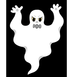 evil ghost vector image